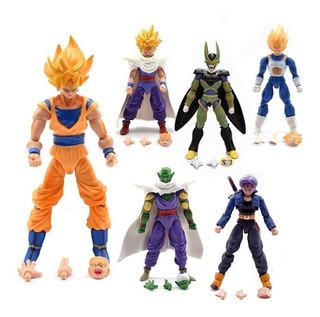 Dragon Ball Z Kai Gt Set 6 Figuras Articuladas