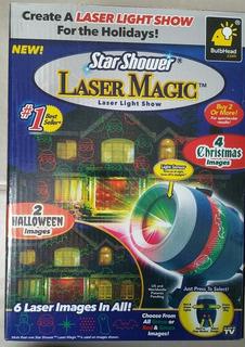 Star Shower Laser Magic Proyector De Luz Con Movimiento