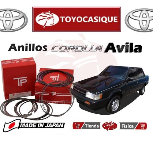 Anillos Para  Avila Japones Tp Toyota Corolla