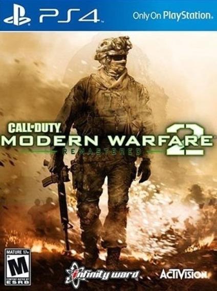Call Of Duty Modern Warfare 2 Remast. Ps4 Locação 15dias Mw2