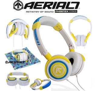 Auriculares Aerial7 Phoenix Citron Dj, iPod, iPhone Con Mic