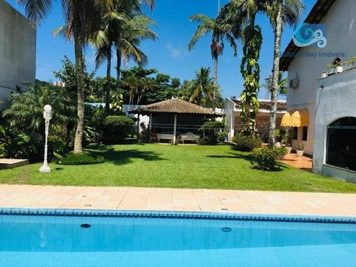Imagem 1 de 23 de Casa A Venda Na Praia De Pernambuco - Guarujá - Ca1824