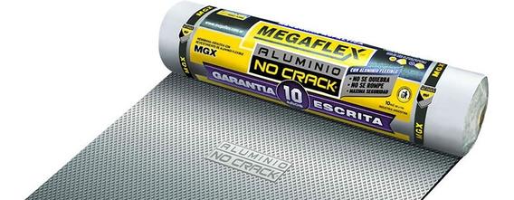 Membrana Asfaltica Megaflex No Crack Nº400 Pintumm