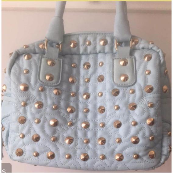 Bolsa Azul Claro Con Estoperoles