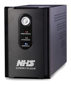Nobreak Nhs Compact Plus Iii 1200va Bivolt Saida 110vou220v