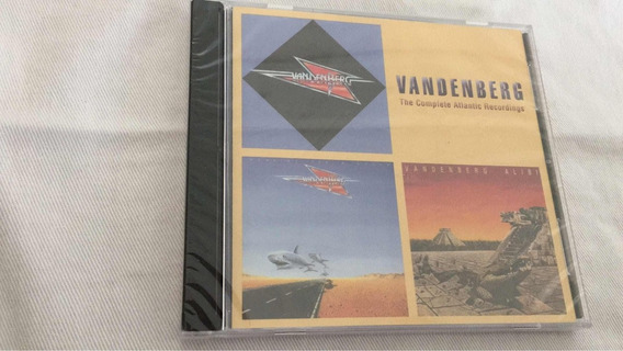 Cd Vandenberg The Complete Atlantic Recordings 2 Cds 3 Alb