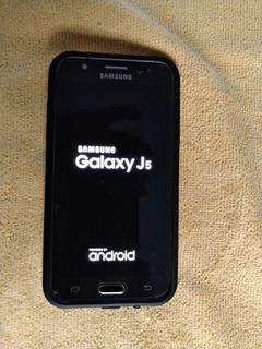 Celular Samsung J5 - 4g Preto - Excelente Estado Conservação