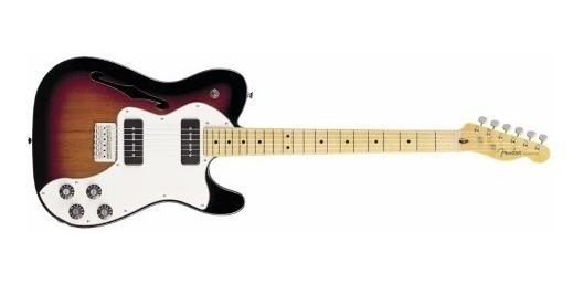 Guitarra Elect Fender Telecaster Thinline Deluxe Sb Cuota
