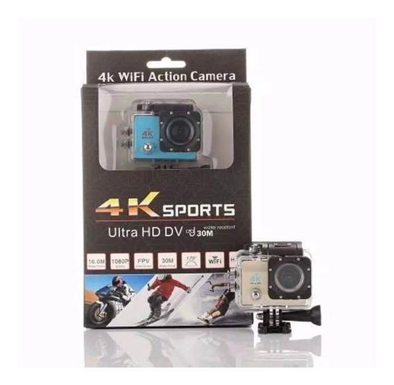 Action Cam Go Sports Pro 4k Ultra Hd Prova Daguá Wi-fi 1080p