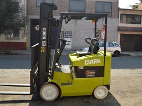 Montacargas Electrico 6000 Libras Clark Bateria Y Cargador