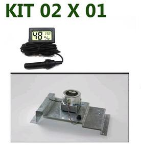 Kit Motor Completo Chocadeiras Premium 220v & Higrometro Dig
