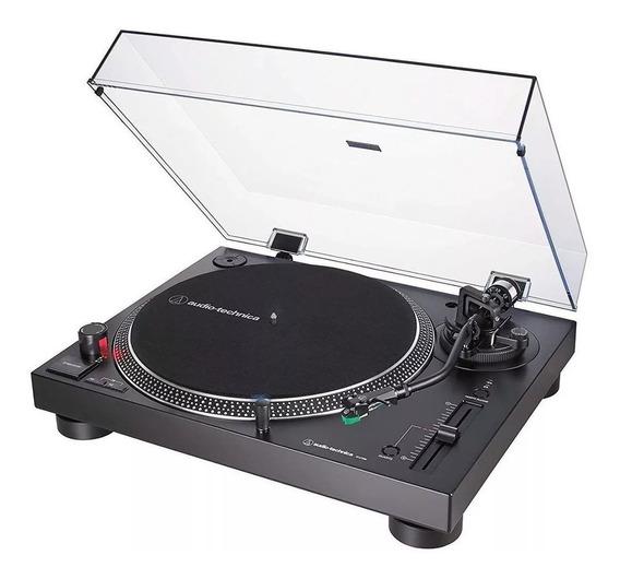 Toca Discos Audio Technica Lp120x At-lp120xusb-bk Promoção