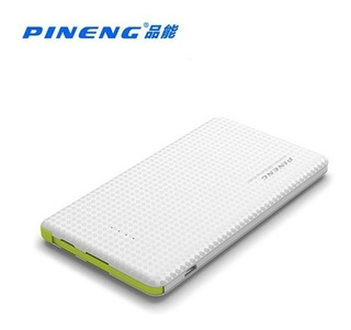 Pineng Power Bank Original Slim Pn951 10000mah Branco