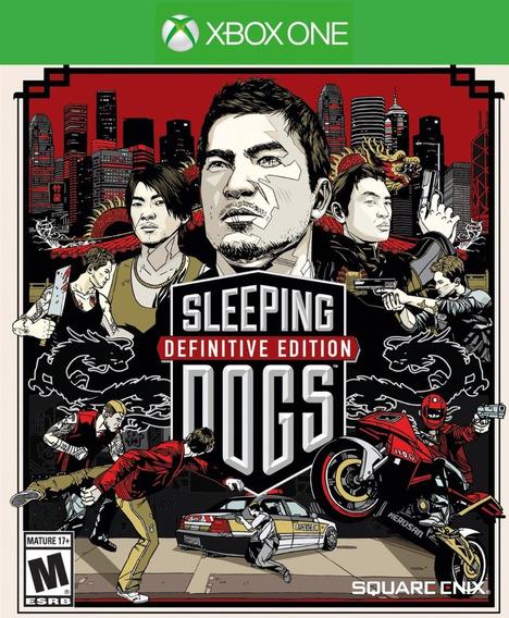 Sleeping Dogs Definitive Xbox One - 25 Dig (envio Rapido)