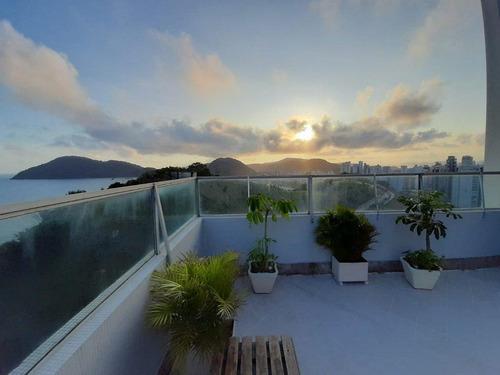 Apartamento Com 3 Dormitórios À Venda, 125 M² Por R$ 530.000,00 - Astúrias - Guarujá/sp - Ap5182