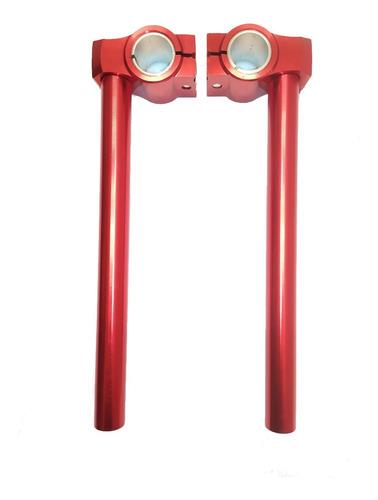 Manijera Tuning Rojo Diam.26/27mm Wnr Cg