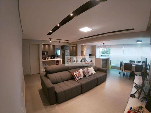 Imagem 1 de 30 de Apartamento Com 3 Dormitórios À Venda, 109 M² Por R$ 1.200.000,00 - Jardim Caravelas - São Paulo/sp - Ap2885