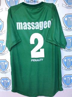 Goiás Penalty 2001 Usada Em Jogo Por Cláudio + Autógrafo # 2