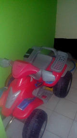 Moto 4 Ruedas Elctrica Para Niños
