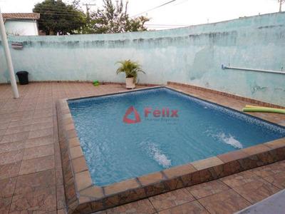 Casa Com 2 Dormitórios À Venda, 142 M² Por R$ 265.000 - Parque Residencial Alvorada - Caçapava/sp - Ca1395