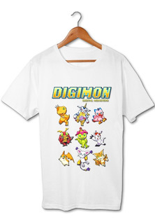 Digimon Emblemas Todos Los Personajes Remera Friki Tu Eres