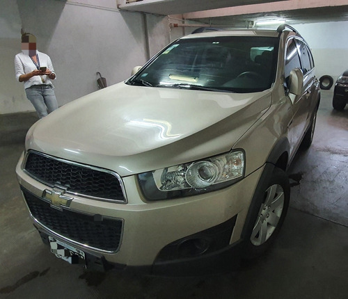 Chevrolet Captiva 2.4 Ls Mt Fwd 167cv 2014 Única Mano
