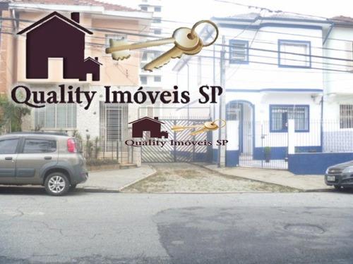 Casa Térrea Para Venda No Bairro Belém Em São Paulo - Cod: Qy310 - Qy310