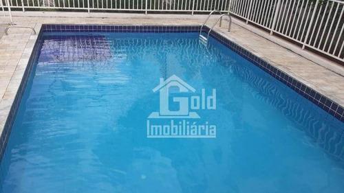 Apartamento Com 2 Dormitórios À Venda, 40 M² Por R$ 170.000,00 - Ipiranga - Ribeirão Preto/sp - Ap3362