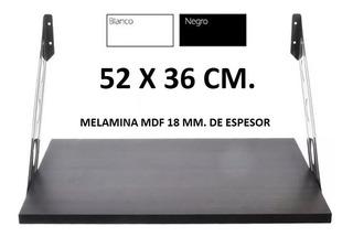 Estante Microondas Repisa Horno Electrico 52x36 Cm Bco/ng