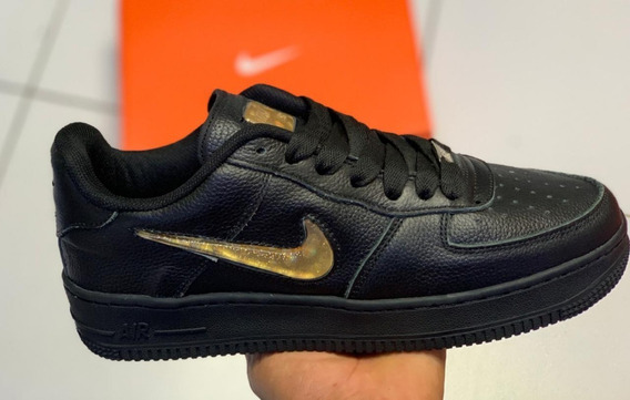 nike air force 1 low hombre negras