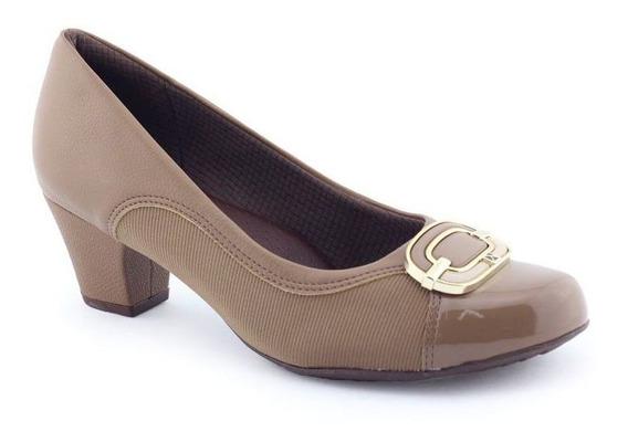 Sapato Feminino Fivela 111081 Joanete Com Nf Piccadilly