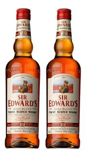 Whisky Sir Edwards 2 Botellas Importado Envio Gratis Caba