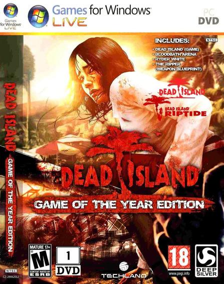 Dead Island Game Of The Yea Pc Original Frete Gratis !!