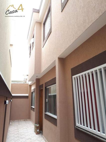 Sobrado Novo Em Condomínio Fechado Com 2 Dormitórios À Venda Por R$ 235.000 - Jardim Penha - São Paulo/sp - So0035