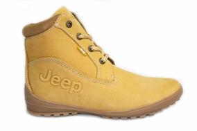 Bota Jeep 5522 Miel Para Dama