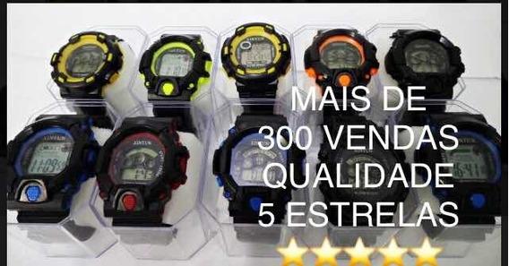 Kit C/ 10 Relógios Digitais + Caixinha Atacado Revenda Top