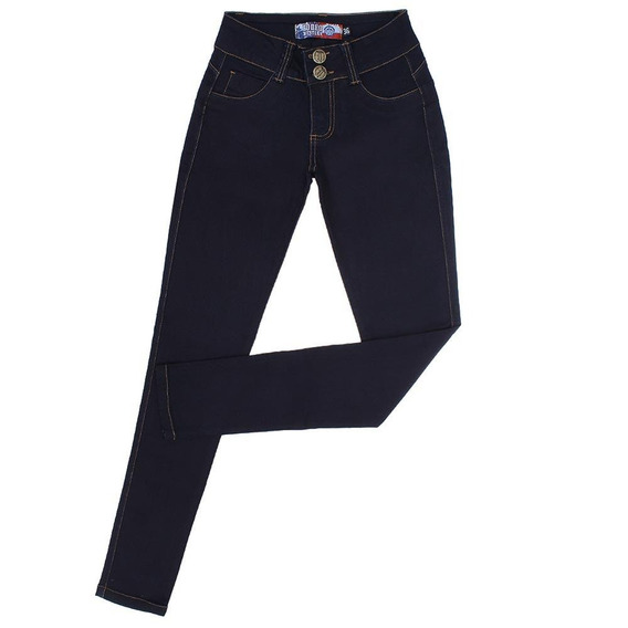 Calça Feminina Jeans Azul Skinny Rodeo Western 22649