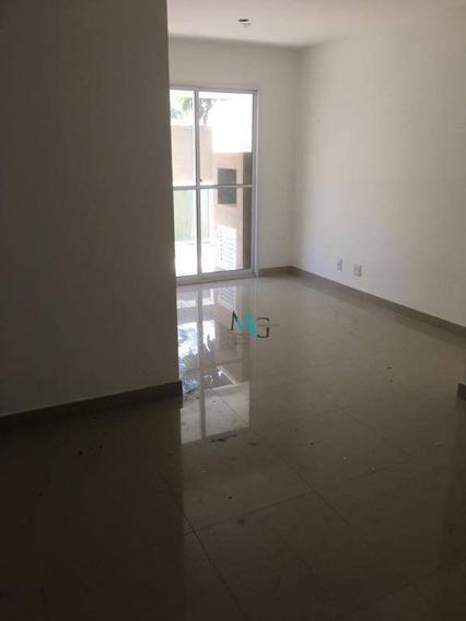 Apartamento Garden Com 3 Dormitórios À Venda, 83 M² Por R$ 320.000 - Campo Grande - Rio De Janeiro/rj - Gd0001