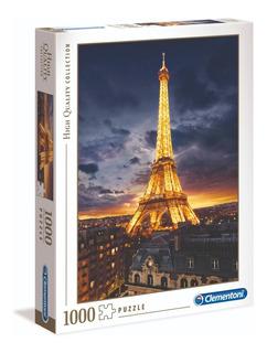 Torre Eiffel Brillos Paris 1000 Pz Rompecabezas Clementoni