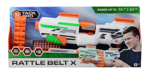 Pistola Lanza Dardos 50cm Tipo Nerf Tack Pro Rattle 31060