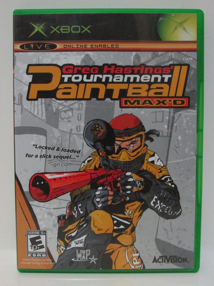 Greg Hastings Paintball Max´d - Game Xbox Clássico Original