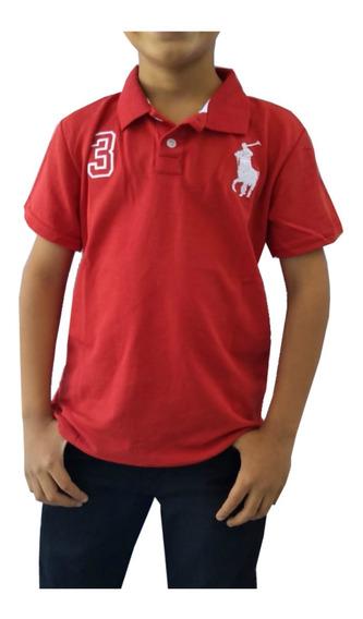 Kit De 10 Camisa Polo Infantil Masculino 01 Ao 12 Promoção