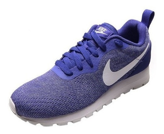Tênis Nike Md Runner Dois Mesh Violeta E Branco