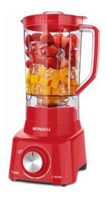 Liquidificador Mondial Turbo, 900w, L900, Vermelho