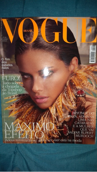 Revista Vogue Beyoncé Número 402