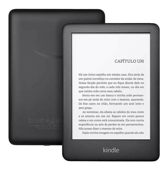 Novo Kindle 10a. Geração Com Iluminação Embutida Cor Preta