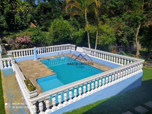Chácara À Venda, 3180 M² Por R$ 790.000,00 - Jardim Marajoara - Jundiaí/sp - Ch0060