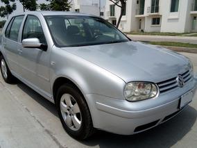 Volkwagen Golf A4, 2003, 2.0l, Mt, Gris Plata
