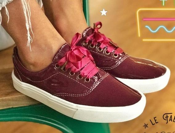 Zapatilla Mujer Sneaker Grape Rocas