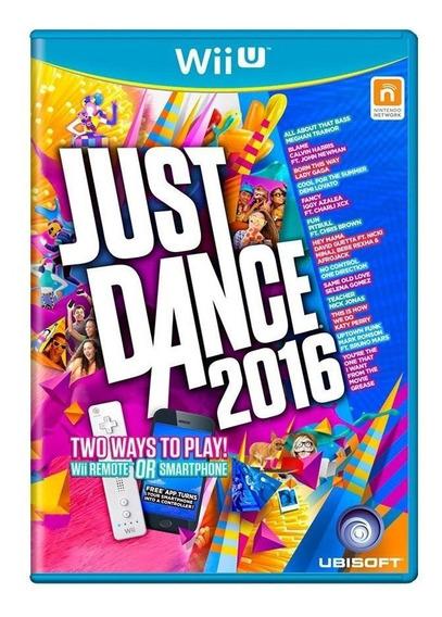Just Dance 2016 Wii U Mídia Física Pronta Entrega